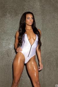 Sexy Ebony Playmate Erica Jackson 01