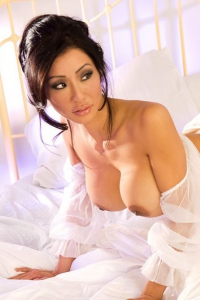 Busty Asian Playmate Kiana Kim 05