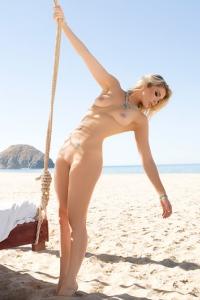 Rebekah Cotton Strips Off Her Bikini 12