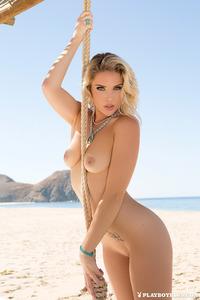 Rebekah Cotton Strips Off Her Bikini 14