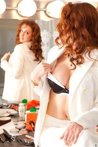 Hot Redhead Playboy Coed Anais Alexandra 01