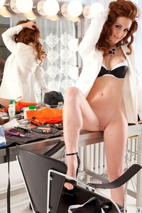 Hot Redhead Playboy Coed Anais Alexandra 09