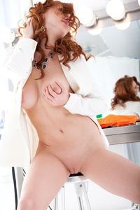 Hot Redhead Playboy Coed Anais Alexandra 13