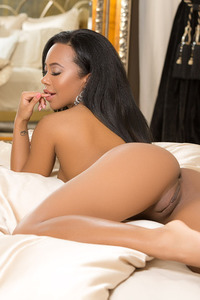 Hope Alina Sexy Ebony Playboy Beauty 10