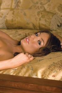 Tara Vaughn Strips On A Bed 13