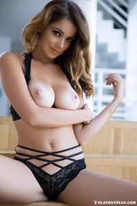 Leggy Brunette Playboy Babe Ali Rose 03