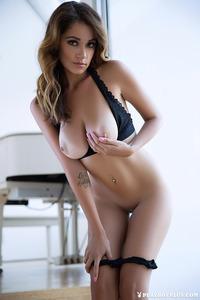Leggy Brunette Playboy Babe Ali Rose 06