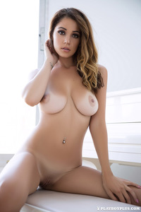 Leggy Brunette Playboy Babe Ali Rose 11