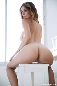 Leggy Brunette Playboy Babe Ali Rose 12