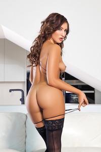 Sexy Playboy Newcomer Dacia Maria Strips 10
