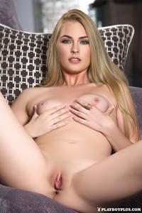 Blonde Playboy Beauty Bailey Rayne Nude 09