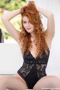 Perfect Redhead Playboy Cybergirl Heidi Romanova 00