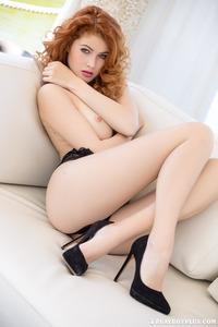 Perfect Redhead Playboy Cybergirl Heidi Romanova 03