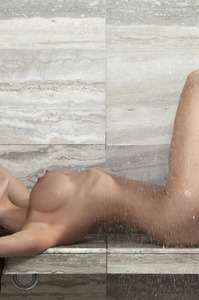Ally Johnson In The Bathroom 11