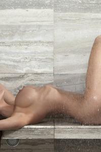 Ally Johnson In The Bathroom 11