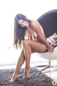 Jeannie Santiago Sexy Playboy Coed Girl 00