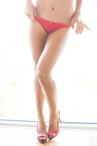 Jeannie Santiago Sexy Playboy Coed Girl 11