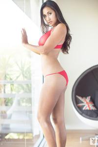 Jeannie Santiago Sexy Playboy Coed Girl 13