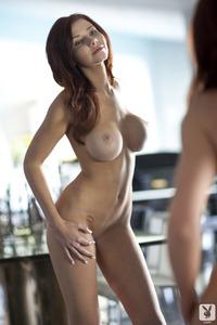 Redhead Playboy Babe Alyssa Michelle Fantasies 05