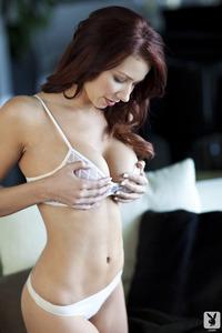Redhead Playboy Babe Alyssa Michelle Fantasies 14