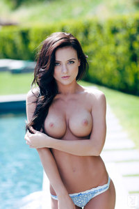 Coed Girl Debbie Boyde - Poolside Sweetheart 01