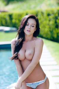 Coed Girl Debbie Boyde - Poolside Sweetheart 06