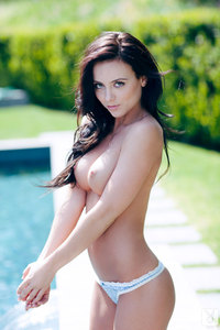 Coed Girl Debbie Boyde - Poolside Sweetheart 08