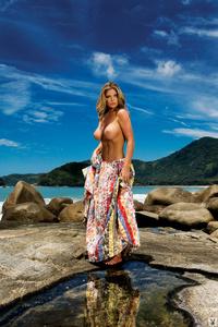Busty Playboy Babe Viviane Bordin 11