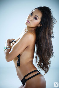 Jeannie Santiago Hot Playboy Coed Girl 10