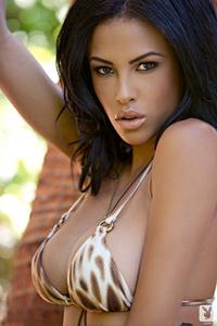 Beautiful Exotic Playmate Kylie Johnson 00