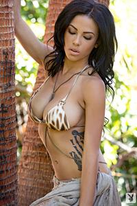Beautiful Exotic Playmate Kylie Johnson 05