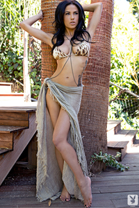 Beautiful Exotic Playmate Kylie Johnson 07