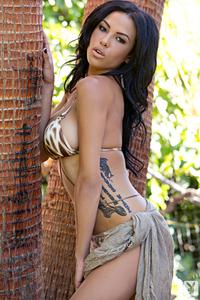 Beautiful Exotic Playmate Kylie Johnson 17