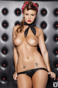 Cybergirl Leanna Decker Backstage Babe 04