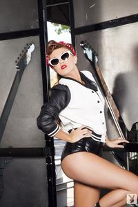 Cybergirl Leanna Decker Backstage Babe 12