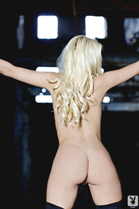 Sexy Blond Playboy Babe Dusica Jovicic - Private Rider 10