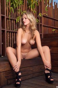 Lovely Playboy Babe Charlotte Rose - Terrace Tendancies 15