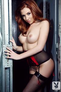 Gracie Lewis Sexy Redhead Cybergirl 14