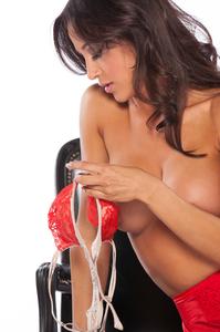 Busty Playboy Cybergirl Ana Cheri Hot Nude Photos 00