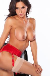 Busty Playboy Cybergirl Ana Cheri Hot Nude Photos 02