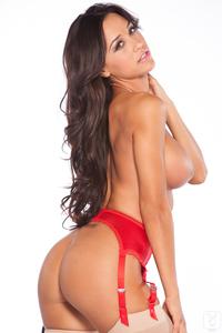 Busty Playboy Cybergirl Ana Cheri Hot Nude Photos 12