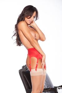 Busty Playboy Cybergirl Ana Cheri Hot Nude Photos 13
