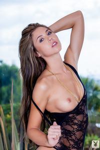 Blue Eyed Playboy Babe Kelsey Ann Tall And Alluring 02