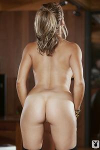 Breathtaking Playboy Babe Kerry Lynn Midnight Strip 15