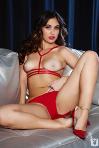 Sexy Babe Anna Capri Red Hot 06