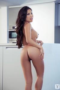 Sexy Playboy Babe Thuy Li Shows Hot Nude Body 03