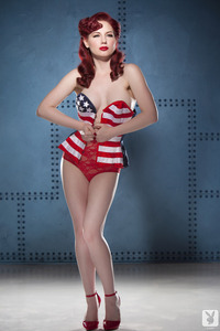 Playboy Babe Angela Ryan American Pinup 00