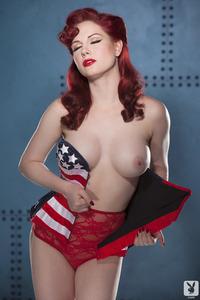 Playboy Babe Angela Ryan American Pinup 01