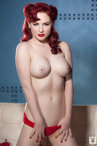 Playboy Babe Angela Ryan American Pinup 06