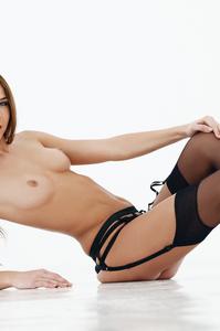 Damn Hot Cybergirl Kelsey Ann Red Lipstick 04